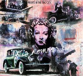 Marlene Dietrich Rolls Royce, Maße: 60x60 cm