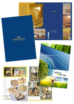 Progettazione grafica catalogo 24 pagine
