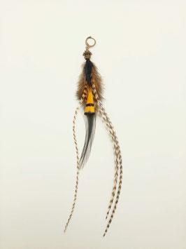 Feder Ohrring #0031