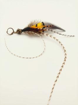 Feder Ohrring #0026
