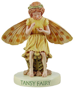 Flower Fairy auf Sockel Rainfarn