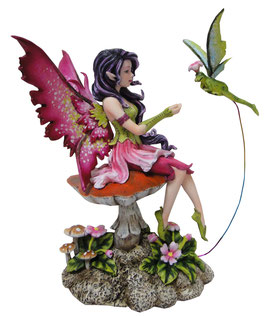 Amy Brown Elfe mit Frosch
