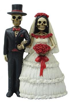 Skelett Brautpaar
