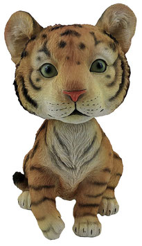 Wackelkopf - Tiger orange