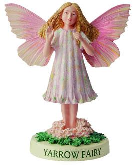 Flower Fairy auf Sockel Schafgarbe