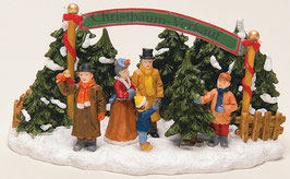 Miniatur Christbaumverkauf