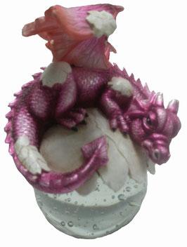 Drachen aus Ei rosa