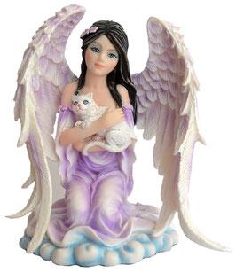 Engel mit Katze