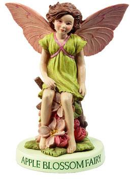 Flower Fairy auf Sockel Apfelblüte