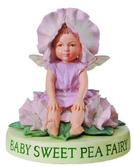 Flower Fairy auf Sockel Wicken-Baby