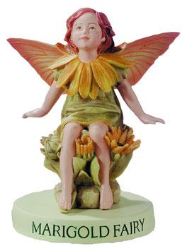 Flower Fairy auf Sockel Ringelblume