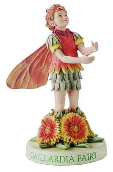 Flower Fairy auf Sockel Kokardenblume