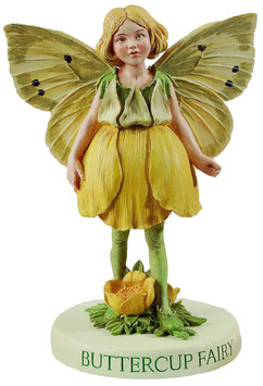 Flower Fairy auf Sockel Butterblümchen