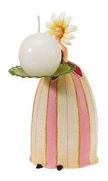 Margeritenmädchen Kerzenständer