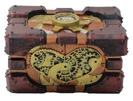 Steampunk-Schatulle recheckig