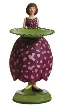 Schachbrettblumenmädchen
