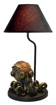 Steampunk-Tintenfisch Lampe