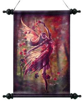 Roll-Bild Anne Stokes-Autumn Fairy