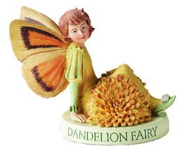 Flower Fairy auf Sockel Löwenzahn