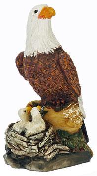 Adler mit Küken