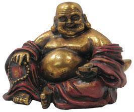 Happy Buddha sitzend