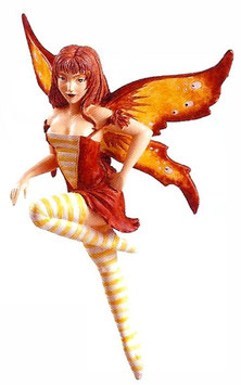Amy Brown Fairy Diva-Ginger