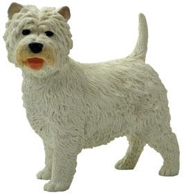 Hund - Westi stehend
