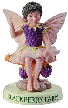 Flower Fairy auf Sockel Brombeere