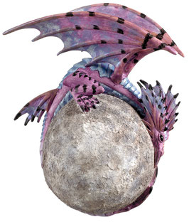 Amy Brown Moon Dragon I