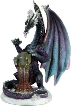 Dragony-Atel Drache lila