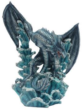 Drachen blau