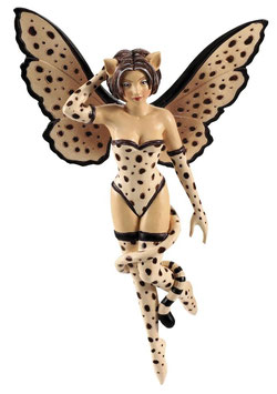 Amy Brown Fairy Diva-Cheetah