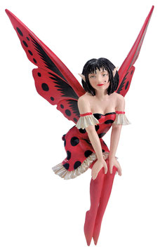 Amy Brown Fairy Diva-Lady Bug