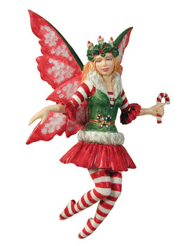 Amy Brown Fairy Diva-Candy Cane