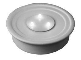 Porzellan LED Unterteller mit 5 Std. Timer exkl. Batterien