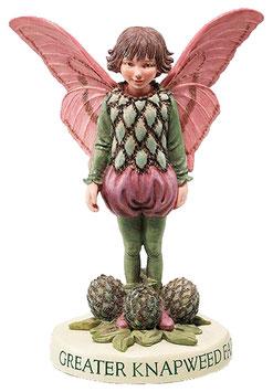 Flower Fairy auf Sockel Flockenblume