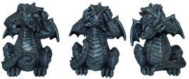 Drachen schwarz die drei Weisheiten
