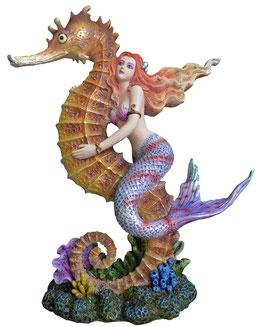 Meerjungfrau mit Seepferd