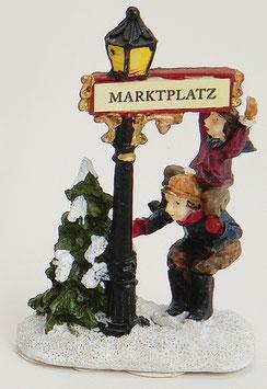Miniatur Wegweiser-Marktplatz