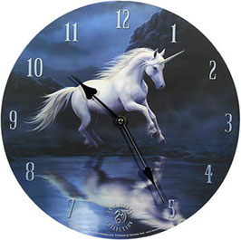 Anne Stokes Uhr-Moonlight Unicorn
