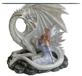Drachen-Tisch mit Elfe