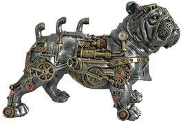 Steampunk-Bulldogge