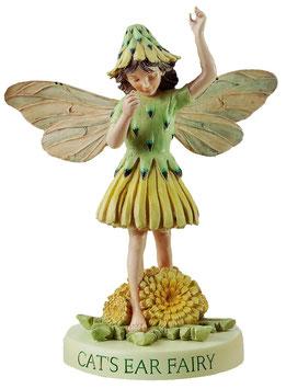 Flower Fairy auf Sockel Habichtskraut