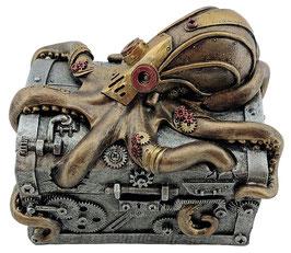 Steampunk-Tintenfisch Schatulle