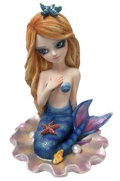 Meerjungfrau blau