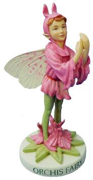 Flower Fairy auf Sockel Knabenkraut