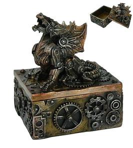 Steampunk-Drachenschatulle