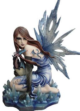 Elfe blau