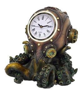 Steampunk-Tintenfisch Uhr