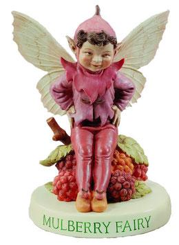 Flower Fairy auf Sockel Maulbeere